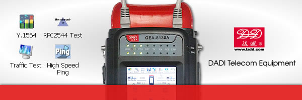 y.1564 test equipment, RFC 2544 tester, rfc 2544 test equipment, gigabit ethernet tester