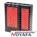 Cable tester RJ-45, RJ-11 with PoE indication (NOYAFA NF-468PF)