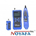 Cable tester RJ-45, w/LCD, wire tracker (NOYAFA NF-309)