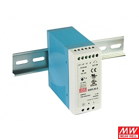 Power supply 40W 24VDC, mini, DIN TS35 (Mean Well MDR-40-24)