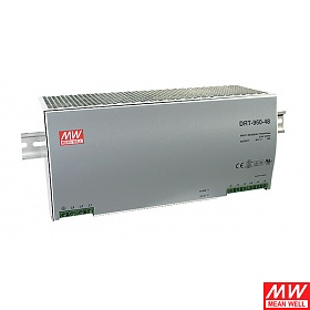 Power supply 960W 24VDC, three phase, DIN TS35 (Mean Well DRT-960-24)
