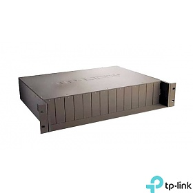 TL-MC1400 - Media converter rack chassis, 14-port (TP-LINK TL-MC1400)