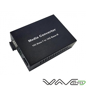 10G media converter RJ-45/SFP+ slot (Wave Optics, WO-K10G-SFP+)