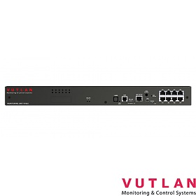"Monitoring unit 19"" 1U; 8x analog; 1x CAN; 4x dry contact inputs (Vutlan VT825)"