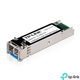 SFP Optical Module, 1x 1Gb, LC SM, 10 km, TX: 1310 nm (TP-Link TL-SM311LS)