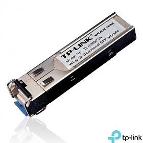 SFP Optical Module, 1x 1Gb, LC SM, 10km, WDM, TX: 1310nm (TP-Link TL-SM321A)