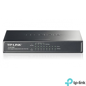 TP-Link TL-SF1008P, Unmanaged switch,  8x 10/1000 RJ-45, PoE