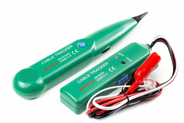 Cable tracker Mastech MS6812 - signal probe, link tester, wire tracker