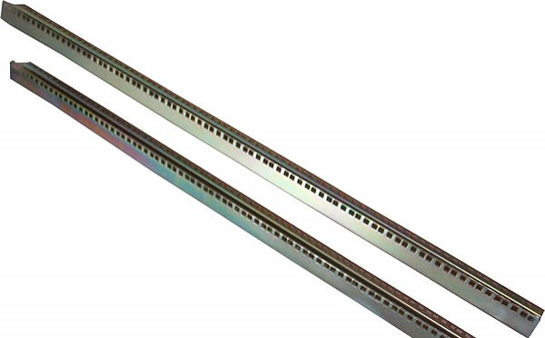"Mounting bars (pair), 19"", 42U"