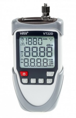 Optical power meter -70 ÷ +6dBm VT22D