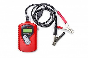 Automotive battery tester LCD