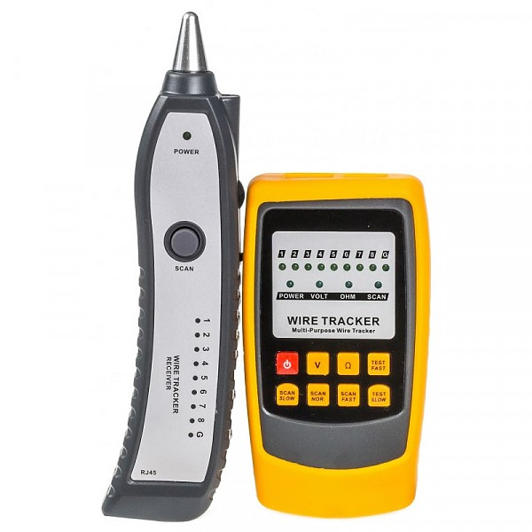 Wire tracker with cable tester