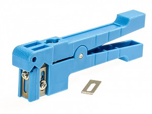 Universal fiber cable stripper, 3.2-5.55mm