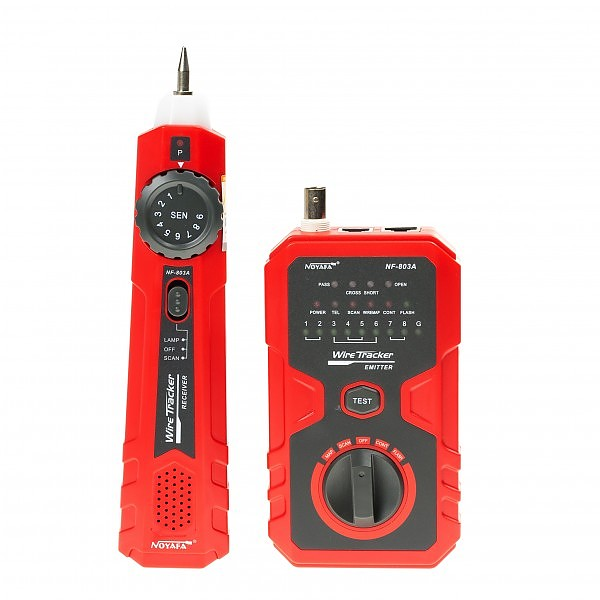 Cable tester RJ-45, with wire tracker (NOYAFA NF-803A)