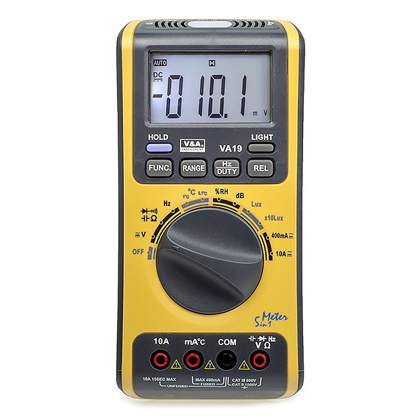 VA19 - Digital multimeter 5 in 1 (V&A VA19)