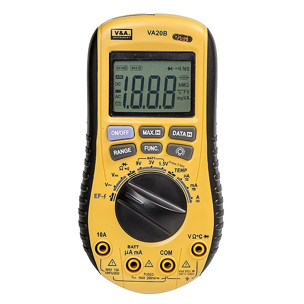 V&A  VA20B - Digital multimeter with non-contact AC voltage detector