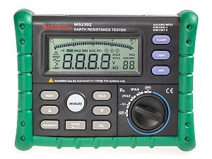 Earth resistance tester - Mastech MS2302