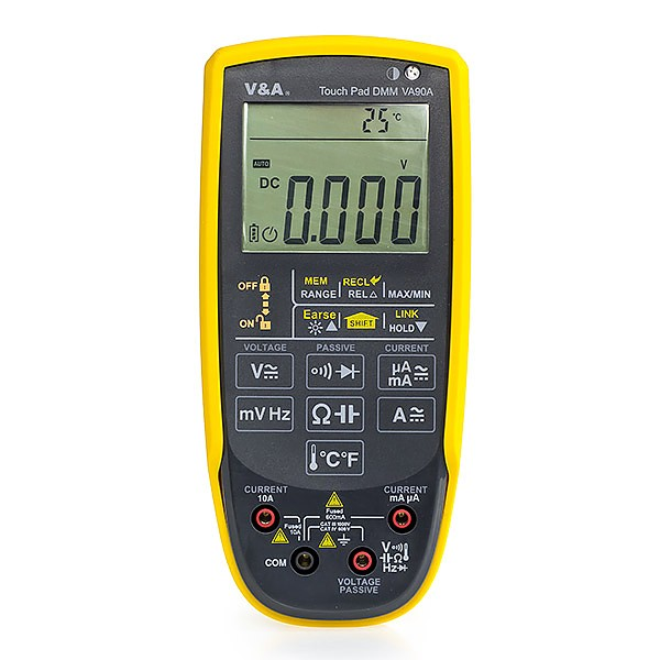 V&A  VA90A - Touch pad True RMS multimeter