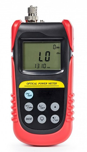 Optical power meter, -70 ÷ +6dBm, 850~1600nm, InGaAs, Wave Optics WO-PM-7006