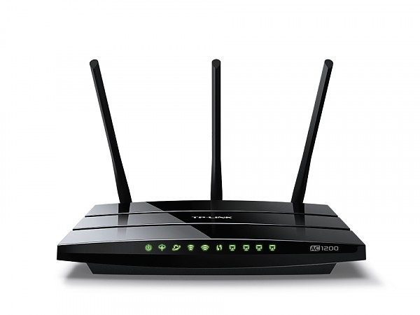TP-Link Archer VR400, 1200Mbps Wireless Gigabit Router Dualband 1200AC, ADSL2+