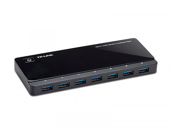 USB 3.0 7-Port Hub, 2 Charging Ports (TP-Link UH720)