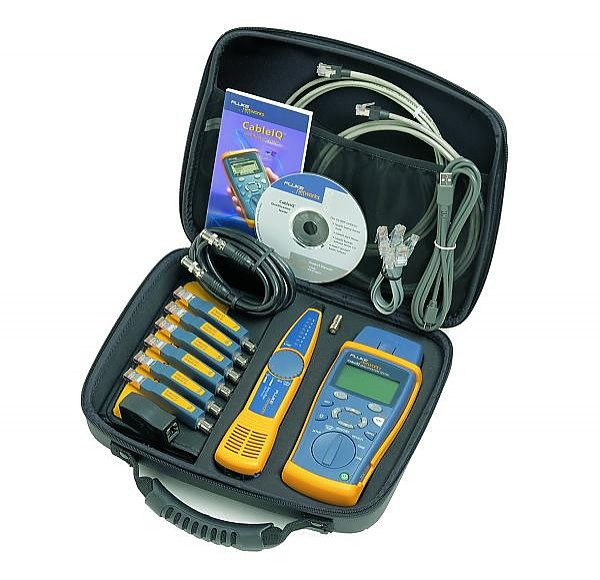 Fluke Networks Cable IQ Advanced Kit cable tester (CIQ-KIT)