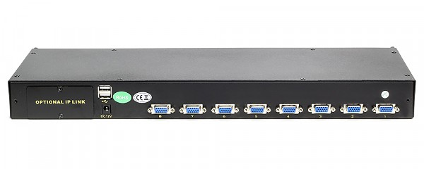 KVM module, Wave KVM, 8 to 1, PS/2 or USB console, rack 19""
