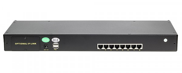 KVM module cat.5, Wave KVM ,  8 to 1, PS/2 or USB console, rack 19""
