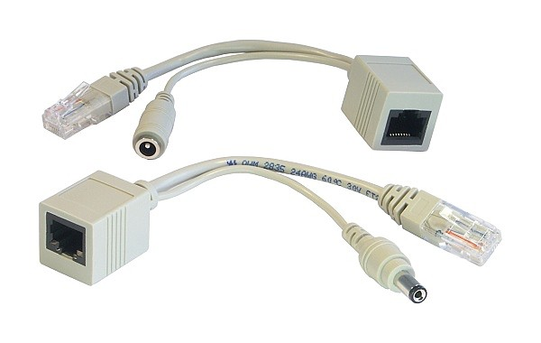 Adapter Kit, Power over Ethernet (injector + splitter)