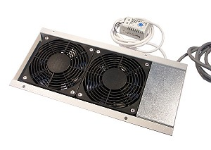 Fan unit, 2x fan, top