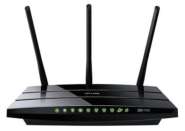 TP-Link Archer C7, 1750Mbps Wireless Gigabit Router Dualband AC1750