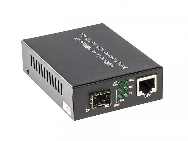 SFP media converter, 1Gb RJ-45/SFP slot 1Gb (Wave Optics, WO-KG-SFP)