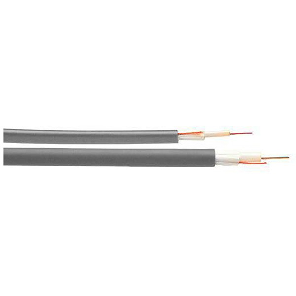 Fiber optic cable, universal, 4x9/125, G652D fiber, LSZH