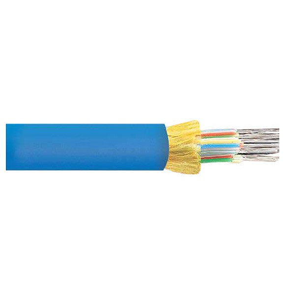 Fiber optic cable, indoor, mini-breakout, 12x50/125/900, OM2 fiber, LSZH