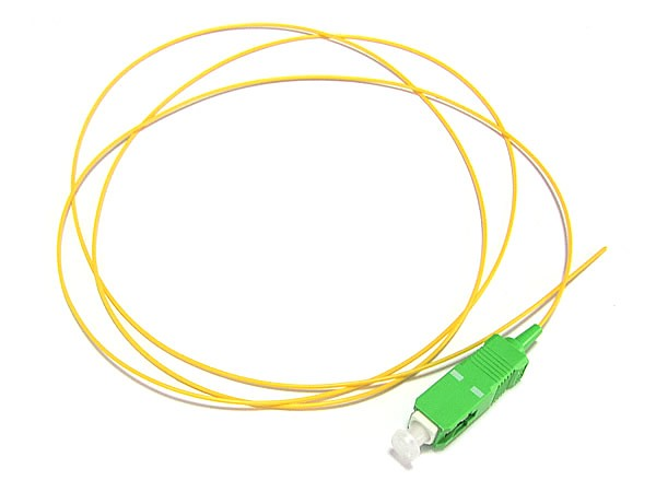 Fiber optic pigtail SC/APC, SM, 9/125, 0.9mm, G652D fiber, 2m