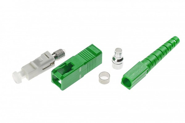 Fiber optic connector SC/APC SM, 3.0mm
