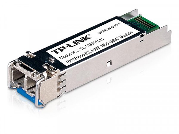 SFP Optical Module, 1Gb, LC MM, 550m, TX:850nm (TP-Link TL-SM311LM)