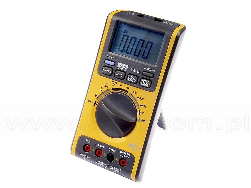 V&A VA18B - Digital multimeter