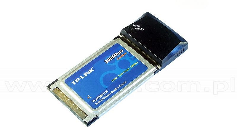 Wireless N PCMCIA adaptor (TP-Link TL-WN811N)