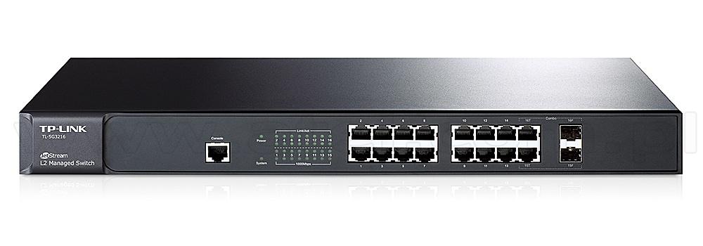 TP-Link TL-SG3216 v1 Switch 64Bit