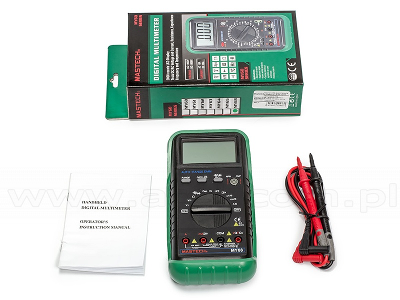 Mastech MY-68 - Digital Multimeter