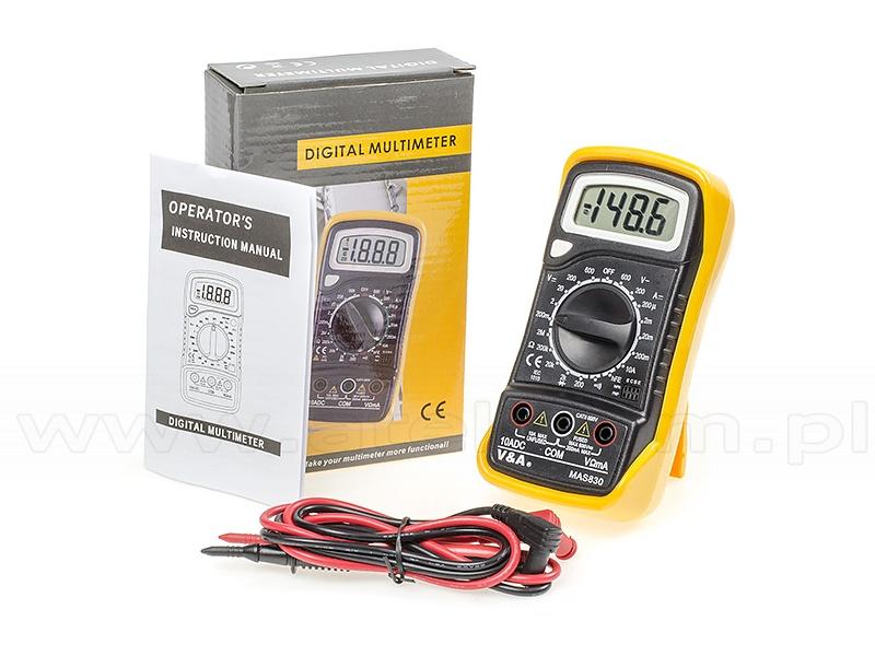 V&A MAS830 - Digital Multimeter
